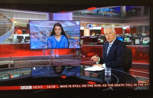 Aneeta Prem on BBC News Radicalisation 28.3.16