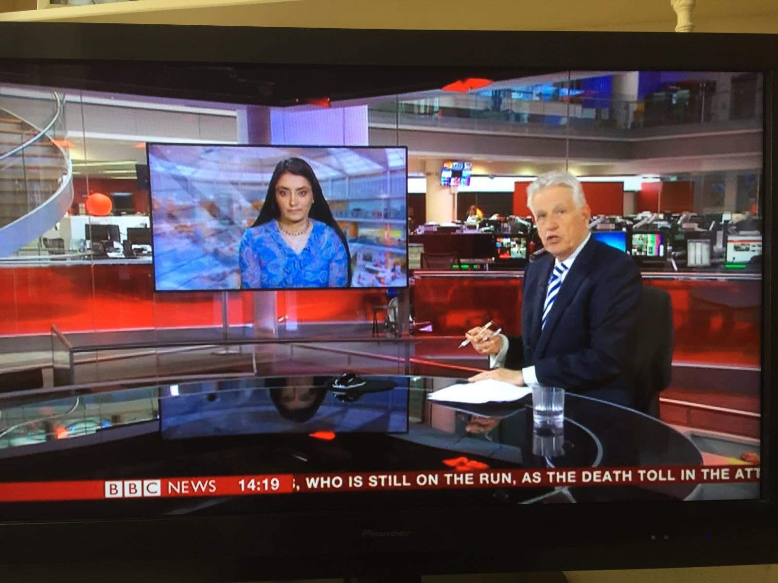 Aneeta Prem on BBC News Radicalisation 28.3.16