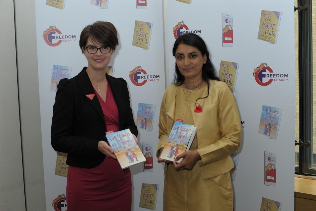 Chloe Smith and Aneeta Prem