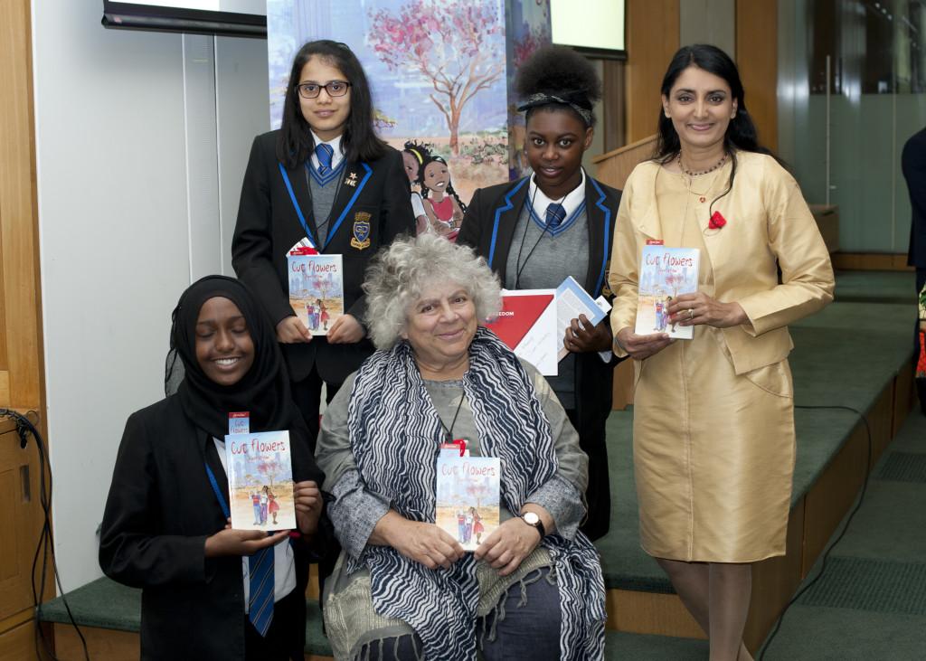 Miriam Margolyes and Aneeta, Cut Flowers presentation
