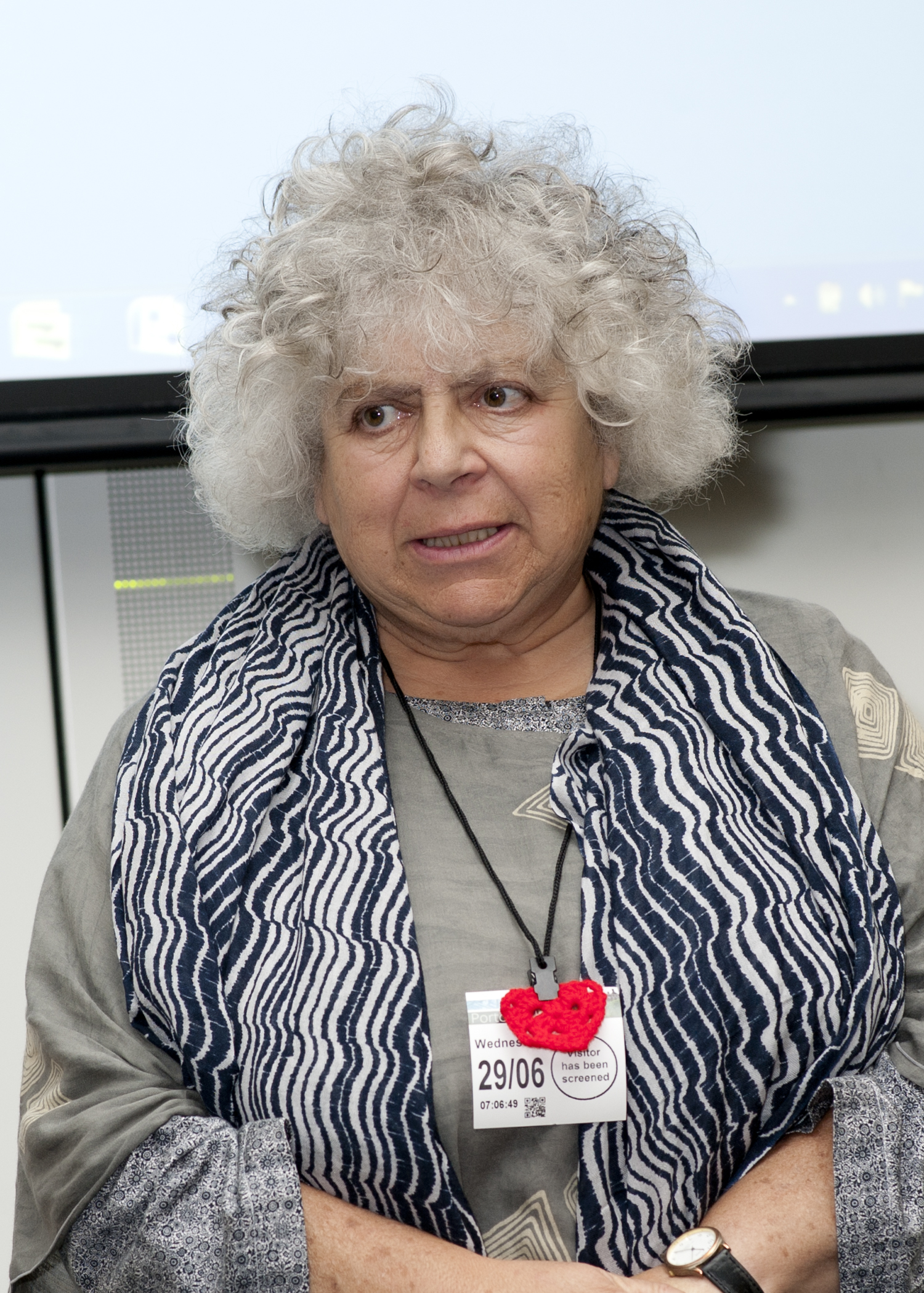 Miriam Margolyes, Cut Flowers presentation