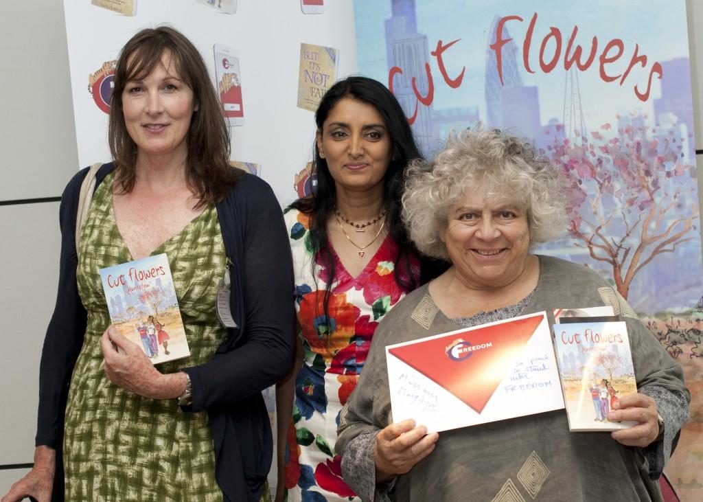 Cut Flowers, FGM, Book Launch, Female gentile mutilation aneeta prem