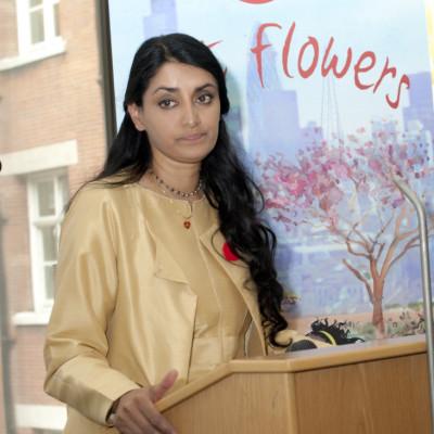 aneeta prem, cut flowers author