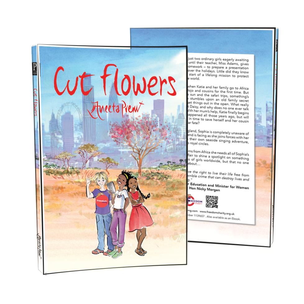 cut flowers by Aneeta Prem black lives matter