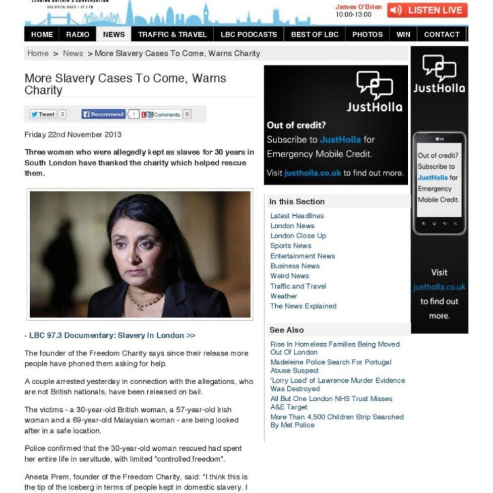 Aneeta Prem lbc News