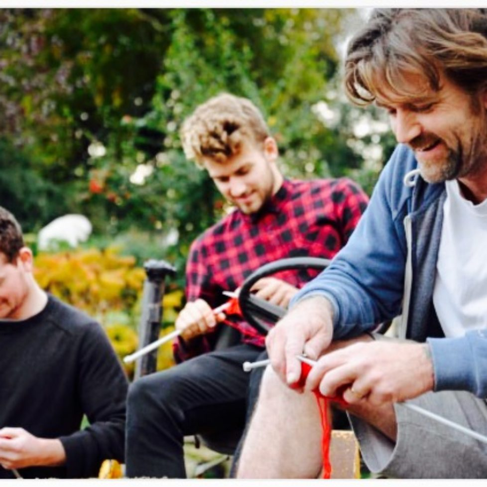 men knit to stop fgm red triangle