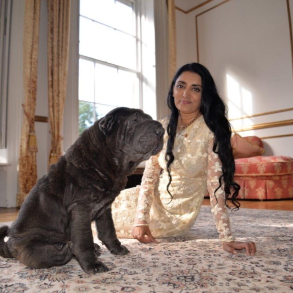 Aneeta Prem Deeva Dog Shar-Pei #sharpeilove