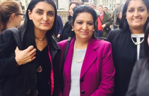Savita prem, Aneeta Prem, Vineeta Prem Thornhill